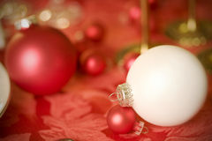 White ornament as decoration Royalty Free Stock Photography