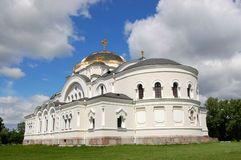 White Orthodox Church Stock Photos