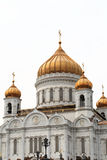White orthodox church Stock Images