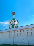 White  Ortodox monastery near Yaroslavl Stock Photo