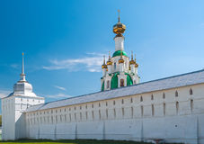 White Ortodox monastery Royalty Free Stock Photos