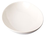 White Oval Bowl III Royalty Free Stock Photography