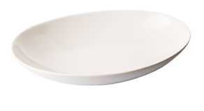 White Oval Bowl IV Royalty Free Stock Photography