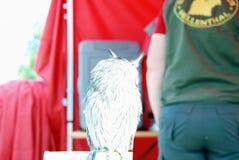 White owl Stock Photography