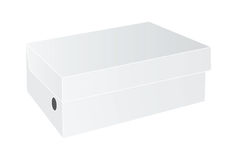 White package box Stock Photo