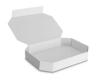 White Package Box for food products Royalty Free Stock Image