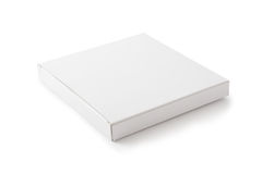 White Package Box Royalty Free Stock Photography
