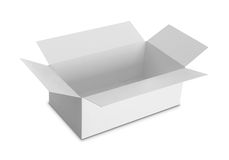 White Package Box for products Royalty Free Stock Photos