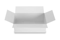 White Package Box for products Royalty Free Stock Images