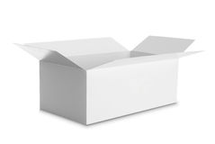 White Package Box for products Royalty Free Stock Photography