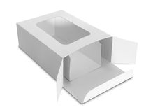 White Package Box for products Royalty Free Stock Image