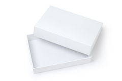 white packing box Royalty Free Stock Photo