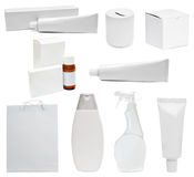 White packing Royalty Free Stock Image