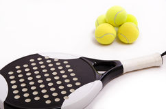 White padel. Stock Photo