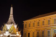 The white Pagoda. Stock Photography