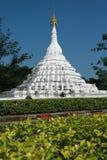 White Pagoda. North of Thailand Royalty Free Stock Photos
