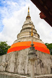 White pagoda. Of Wat Phra Singh in Chiang Mai, Thailand Stock Photography