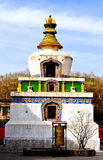 White pagoda Stock Images
