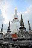 White pagoda. White pagoda in Thailand Royalty Free Stock Photos