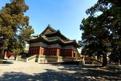 White Pagoda. Of Beihai Park  in Beijing Stock Image