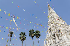 White pagoda Royalty Free Stock Image