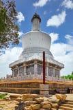 White Pagoda in  Beihai Park, near the Forbidden City, Beijing. Royalty Free Stock Image
