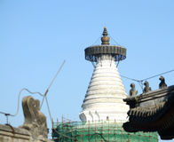 White pagoda Stock Image