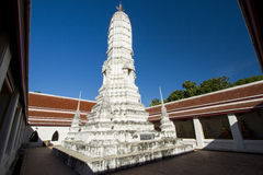 White pagoda Royalty Free Stock Image