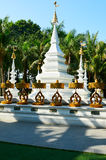 The White Pagoda of Dai nationality Stock Photography