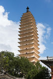 White pagoda Dali Stock Photo