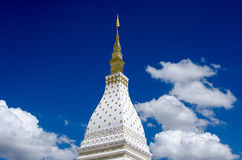 White Pagoda Royalty Free Stock Photo