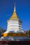 White pagoda stock photo