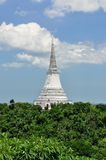White Pagoda in Khao Wang Royal Palace Royalty Free Stock Photos