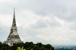White Pagoda in Khao Wang Royal Palace Royalty Free Stock Photos