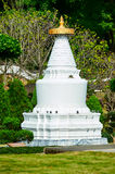 The White Pagoda at Miaoying Temple Royalty Free Stock Photo