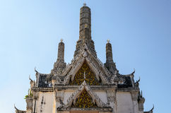 White pagoda in Phra Nakhon Khiri Stock Photography