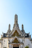 White pagoda in Phra Nakhon Khiri Royalty Free Stock Photos