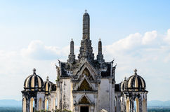 White pagoda in Phra Nakhon Khiri Royalty Free Stock Photography