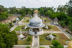White Pagoda Royalty Free Stock Photos