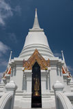 The white pagoda of Thailand Royalty Free Stock Photography