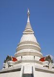 The white pagoda of Thailand Royalty Free Stock Images