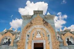 White pagoda in Thailand Stock Photos
