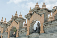 White pagoda in Thailand Stock Photography