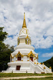 White Pagoda in Thailand Stock Images