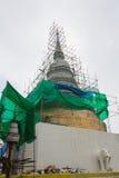 White pagoda under construction Stock Photos