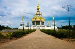White pagoda Royalty Free Stock Photos