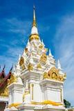 White pagodas Stock Photos