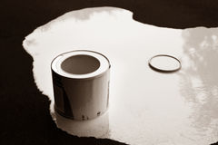White paint Royalty Free Stock Image