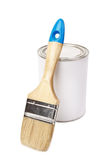 White paint can Royalty Free Stock Photos