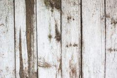 White paint mottled wooden doors Stock Photos